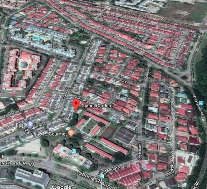 Parc Komo (Former Changi Garden) Condo Location 2